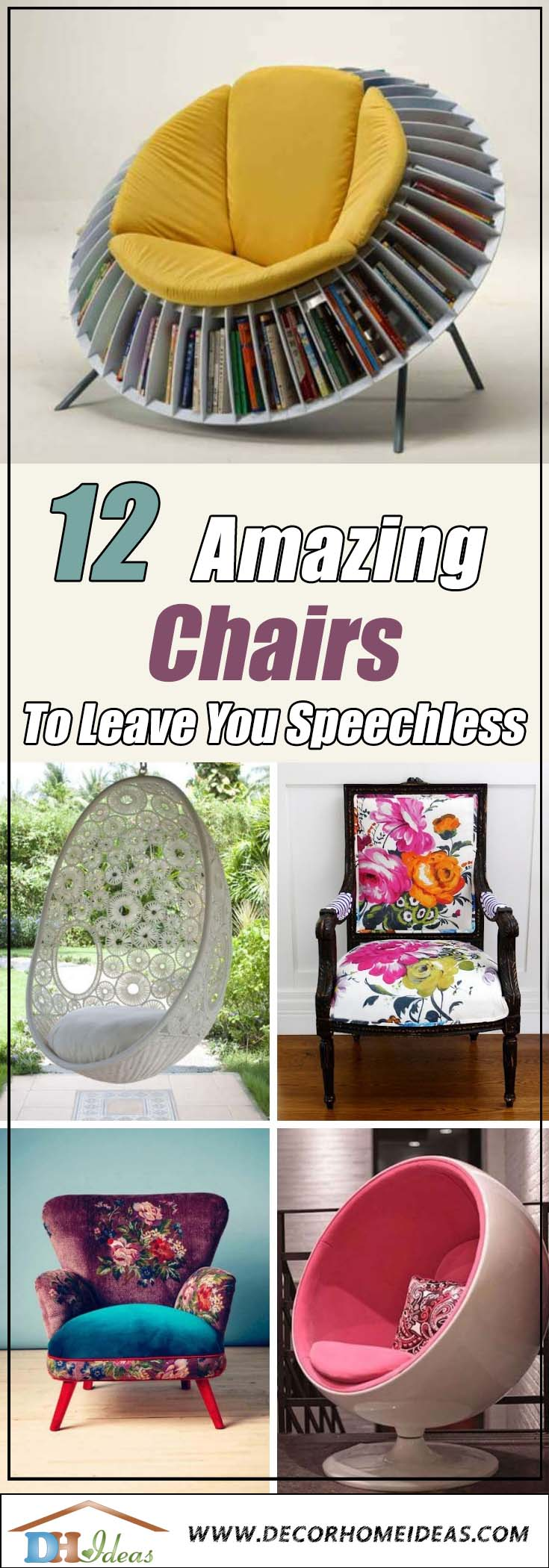 12 Amazing Chairs To Leave You Speechless | Great chair and seating decorations, trendy and cozy. #chair #furniture #homedecor #decoratingideas #diy #decorhomeideas