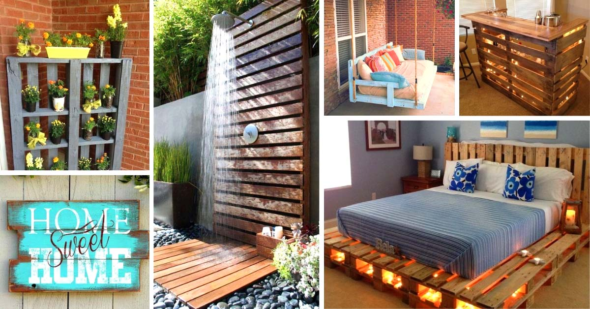 10 Incredible Diy Pallet Ideas With Low Budget
