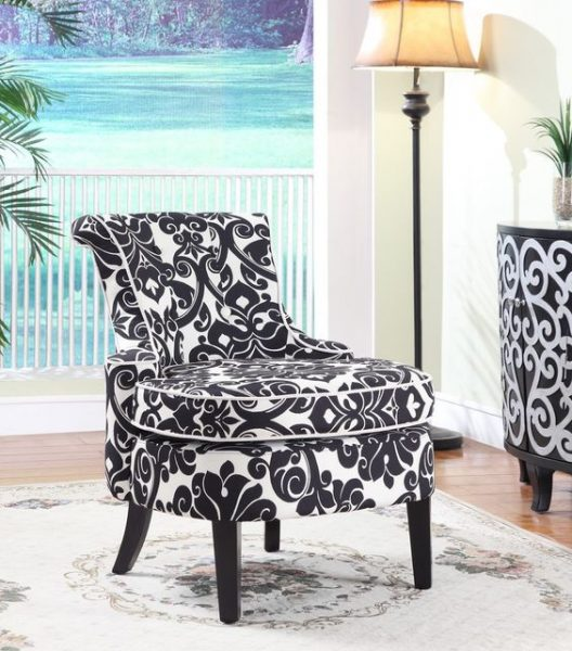 amazing black and white chair