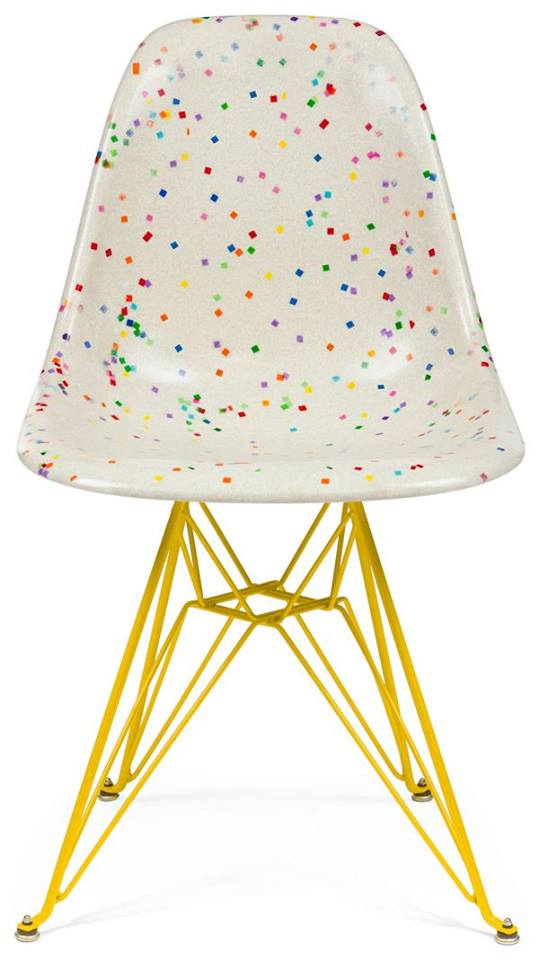 Confetti chair design idea #chair #furniture #homedecor #decoratingideas #diy #decorhomeideas