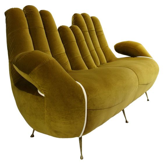 Cupped hands sofa design #sofa #couch #design #furniture #interiordesign #homedecor #decorhomeideas