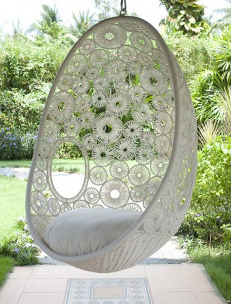 Lovely boho swing chair #chair #furniture #homedecor #decoratingideas #diy #decorhomeideas