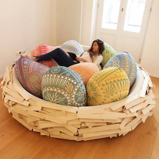 Nest sofa design idea #sofa #couch #design #furniture #interiordesign #homedecor #decorhomeideas