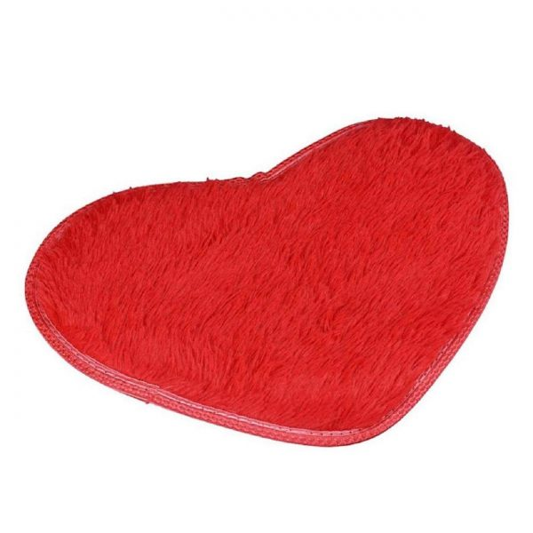 Non slip bath mat red heart #bathroom #red #decor #accessories #homedecor #decorhomeideas
