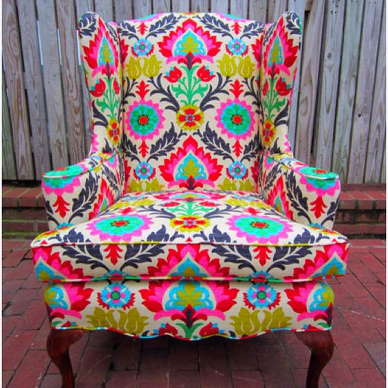 Summer colorful chair idea #chair #furniture #homedecor #decoratingideas #diy #decorhomeideas