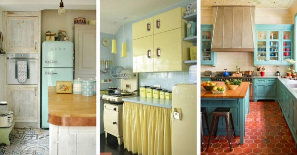 15 Wonderful Vintage Kitchen Designs That Will Inspire You!