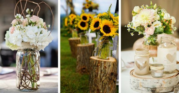 25 Decorated Wedding Jars Ideas To Celebrate Love