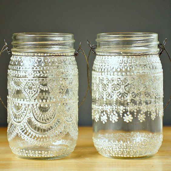 Beautiful mason jar idea #jars #recycledjars #decoratingideas #homedecor #decorating #diy #home #decorhomeideas