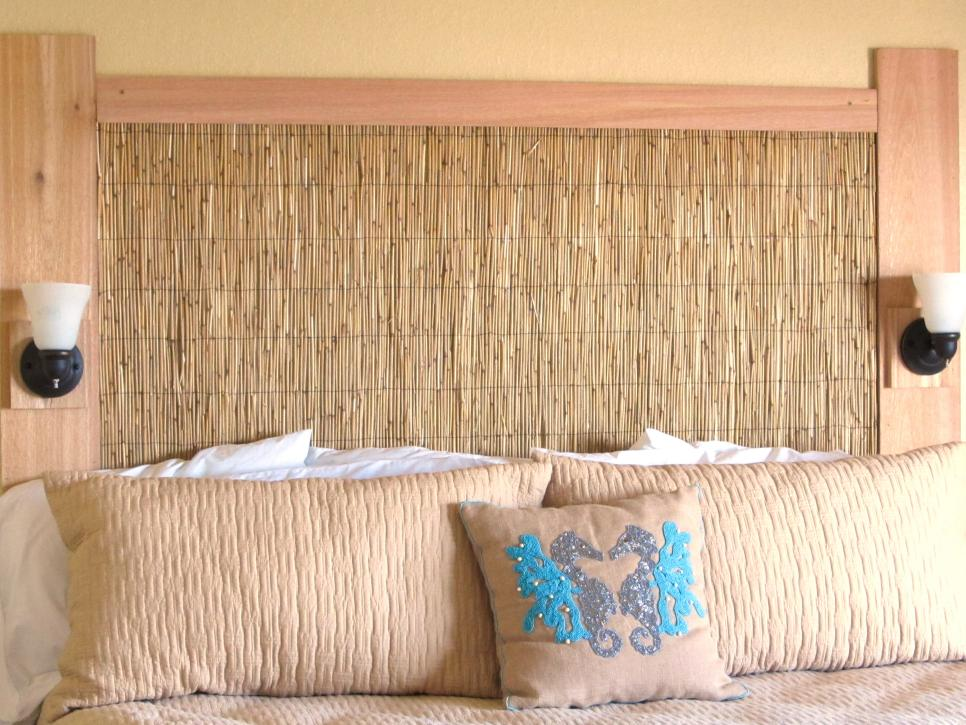 Coastal feel headboard idea #headboard #bedroom #homedecor #decoratingideas #decorhomeideas