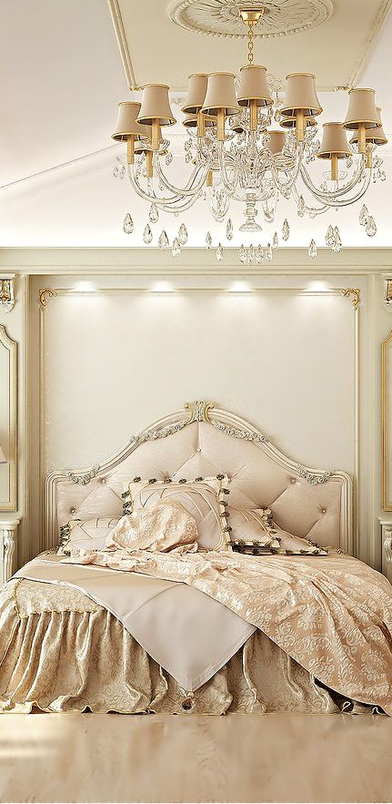 Glam headboard design idea #headboard #bedroom #homedecor #decoratingideas #decorhomeideas