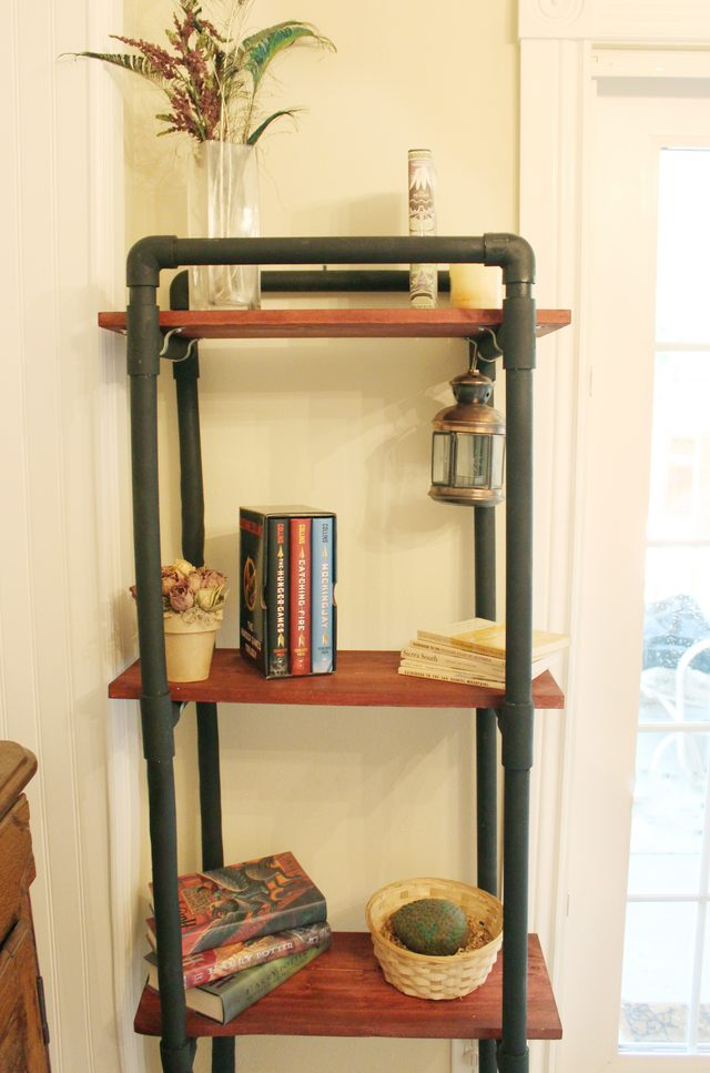 Pvc pipe book shelves idea #diy #pvcpipes #homedecor #decoratingideas #pvc #decorhomeideas