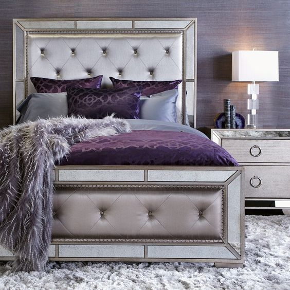 Royal headboard idea #headboard #bedroom #homedecor #decoratingideas #decorhomeideas