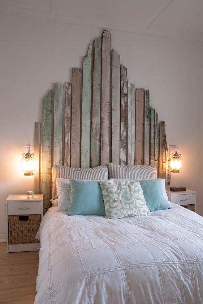 Soft pastel colored headboard style #headboard #bedroom #homedecor #decoratingideas #decorhomeideas
