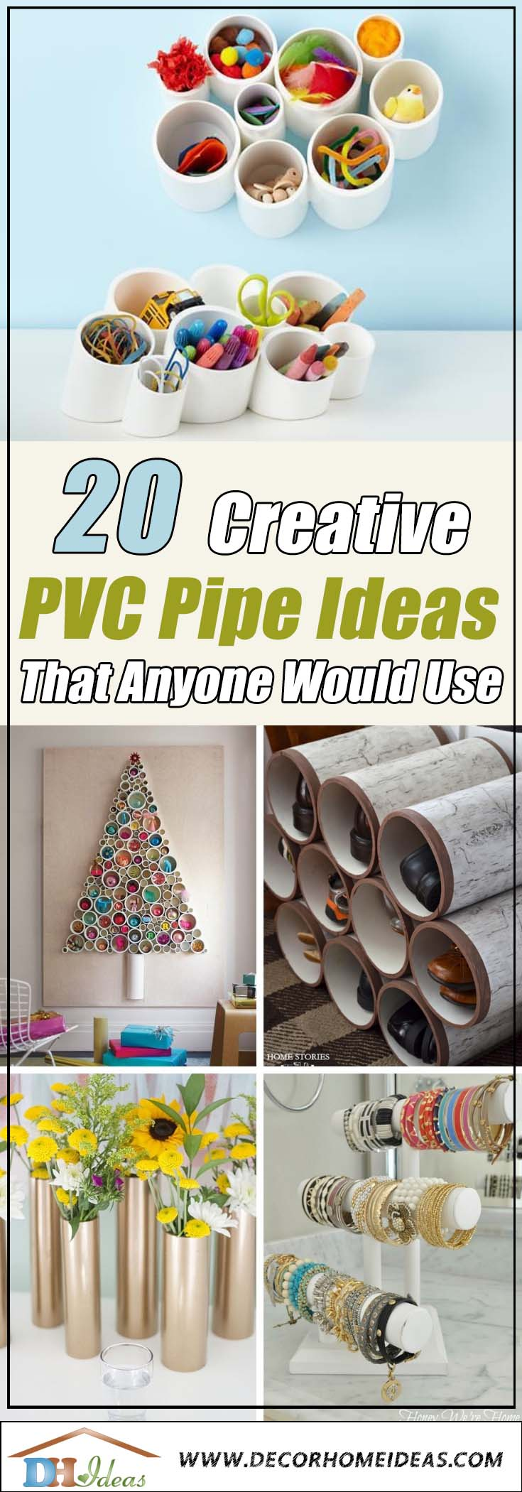 20 Creative PVC Pipe Ideas That Anyone Would Use | DIY amazing decoration with PVC pipes