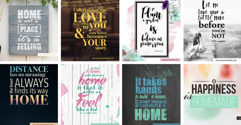 Home love family quotes