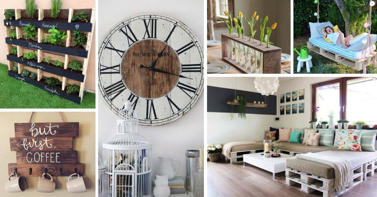 30 Ways Of Turning Wooden Pallets Into Unique Pieces Of