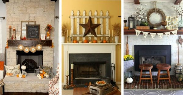 12 Autumn Decor Ideas For Your Mantel To Get Inspired!