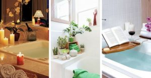 12 Affordable Decorating Ideas For A Bathroom Spa!