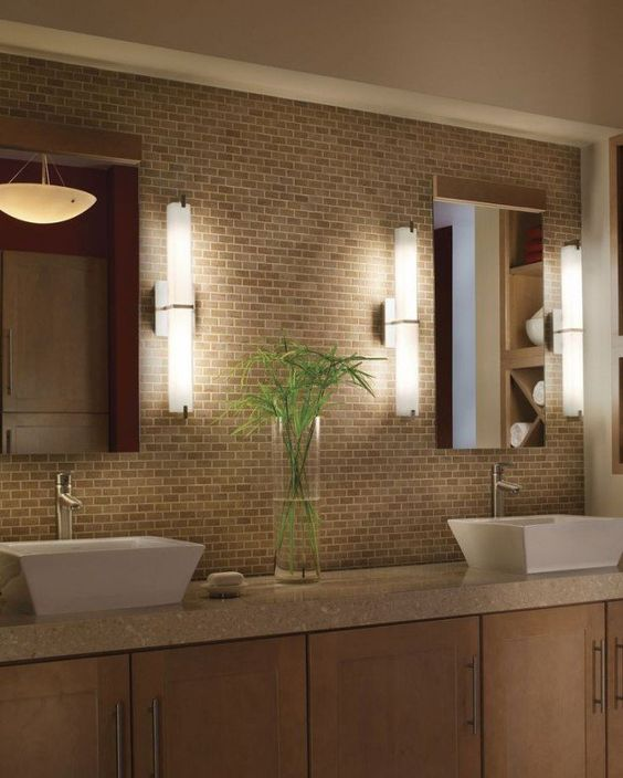 dimming bathroom lights spa style idea