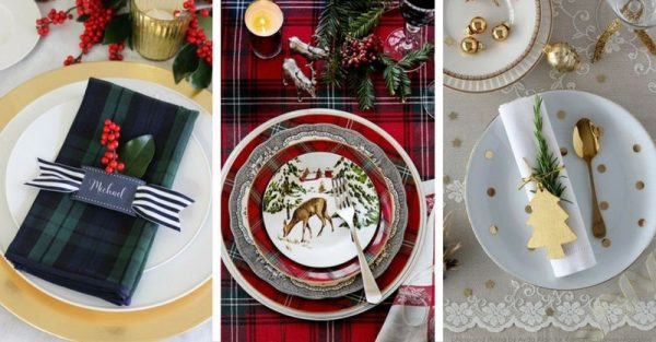 20 Beautiful Christmas Table Setting Ideas To Bring Warmth At Home!