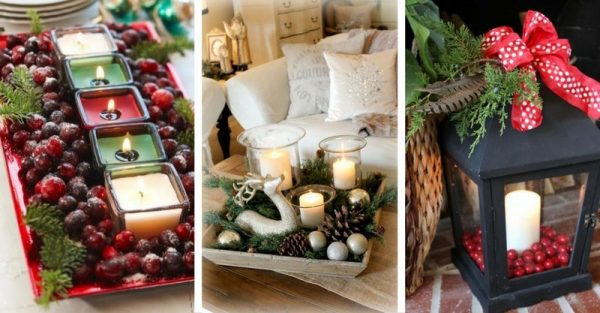 20 Lovely Christmas Decoration Ideas To Inspire You!