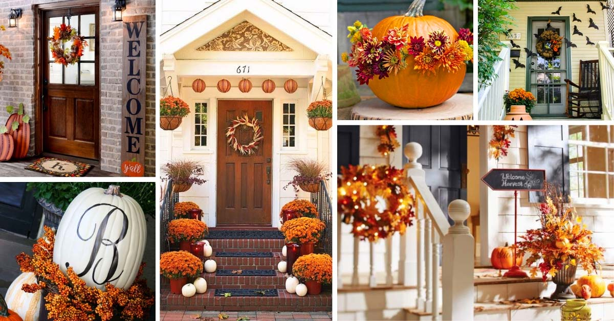 15 lovely fall front porch decorating ideas decor home ideas - Fall decorating ideas for front porch ...