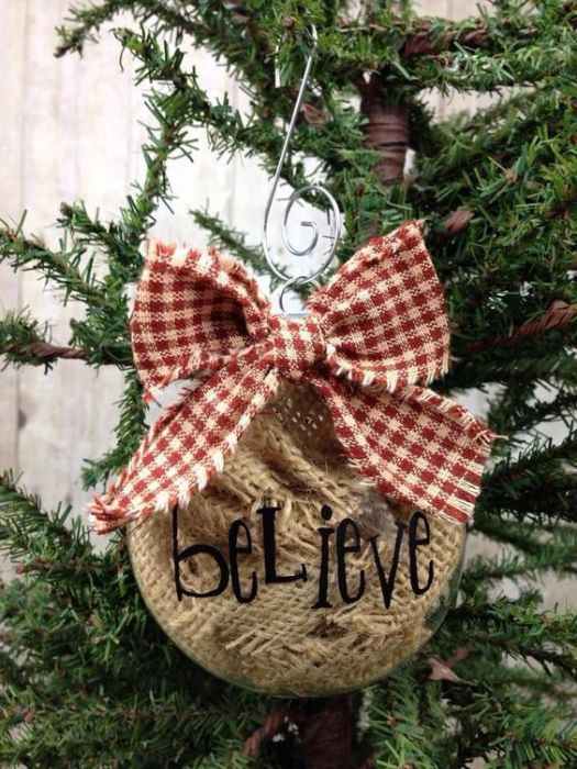 Easy diy christmas ornament idea #xmas #x-mas #christmas #christmasdecor #decoration #decoratingideas #festive #decorhomeideas