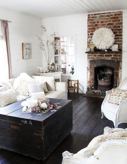 Rustic living room decor idea #rustic #rusticdecor #rusticfarmhouse #homedecor #decoratingideas #decorhomeideas