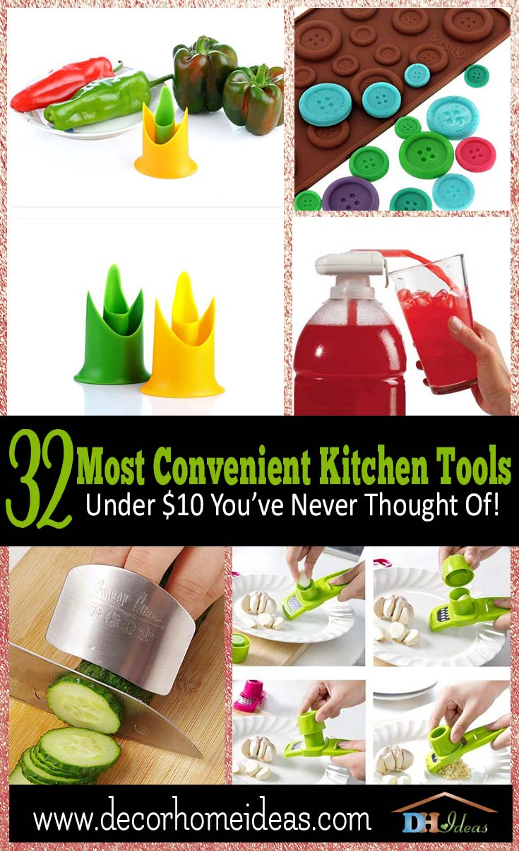 32 Most Convenient Kitchen Tools Under $10 You've Never Thought Of