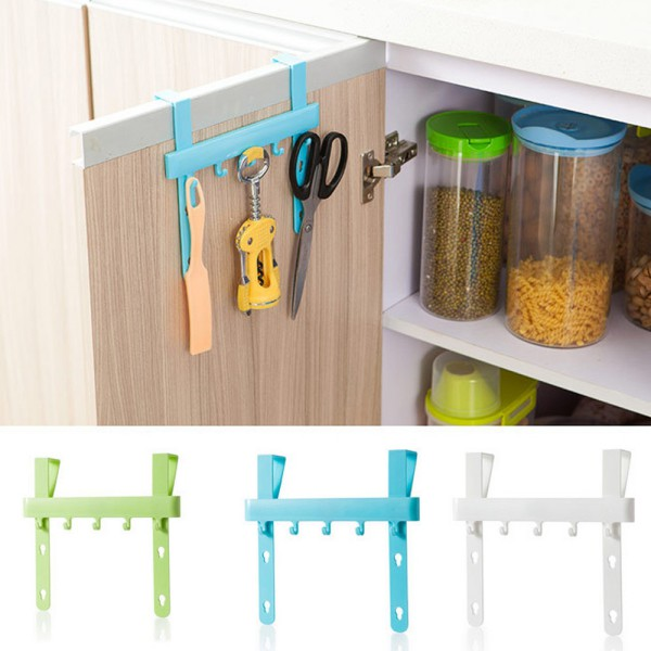 door rack hooks kitchen hanging storage gadgets holders accessories tool