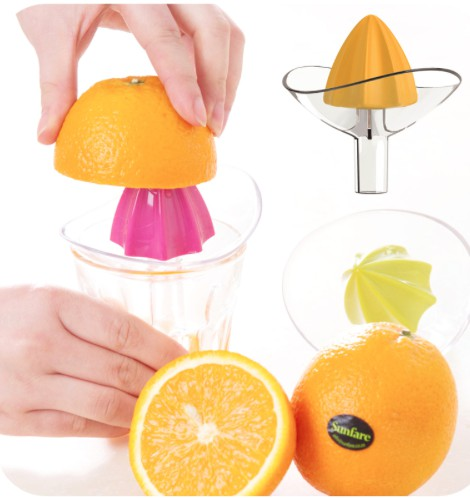 fruit vegetable tool plastic hand manual orange juicer kitchen gadgets mini juice lemon squeezer reamer kitchen accessories