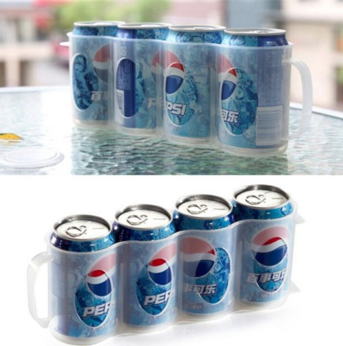kitchen accessories coke drink can space saving cans finishing frame storage box refrigerator storage box gadget