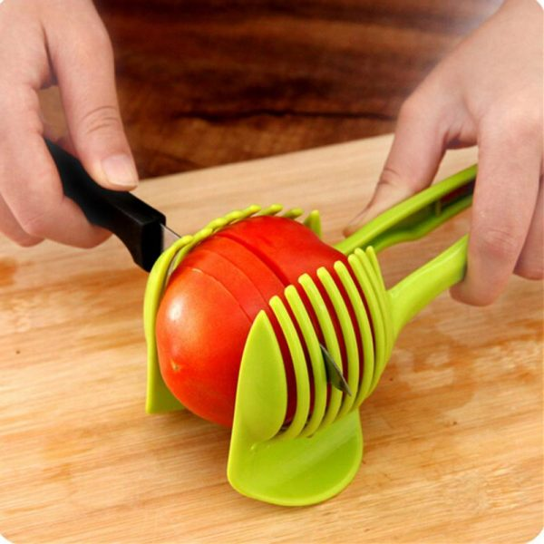 kitchen accessories cooking tools gadget utensilios de cozinha slice assistant hand held lemon tomato fruit slicer
