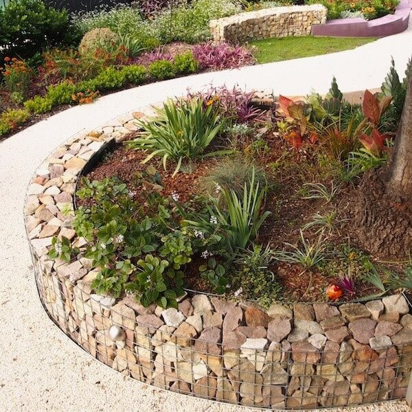 12 Amazing Ideas For Flower Beds Around Trees: 25+ Amazing Lawn-Edging Ideas For Your Garden