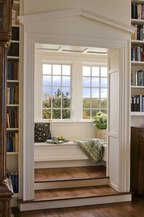 Private reading corner #readingnook #nook #readingcorner #decoratingideas #homedecor #cozynook #decorhomeideas