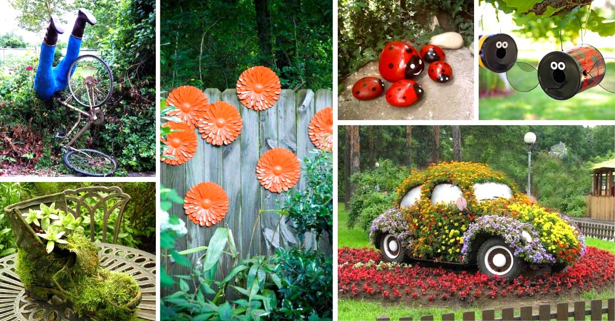 Cool DIY Recycled Art Projects
