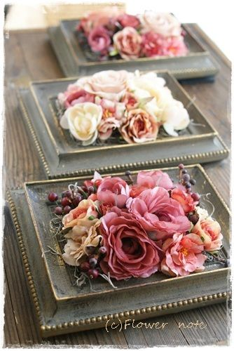 Flower tray from old picture frames #diyproject #diy #makeover #homedecor #decorationideas #pictures #frames #vintage #decorhomeideas