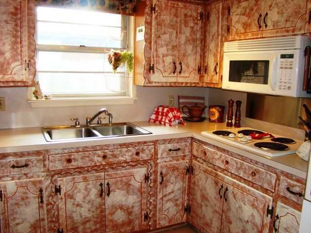 Marble top kitchen