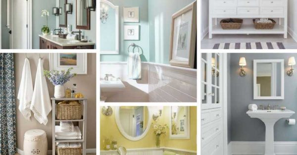Peachy 10 Best Paint Colors For Small Bathroom With No Windows Download Free Architecture Designs Ferenbritishbridgeorg