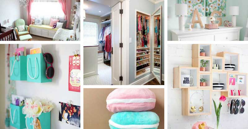 48 Cheap Ways To Decorate A Teenage Girl's Bedroom Decor Home Ideas Custom Decorating Ideas For Teenage Girl Bedroom
