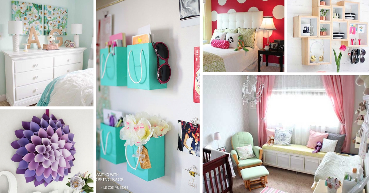 17 Cheap Ways To Decorate A Teenage Girl S Bedroom