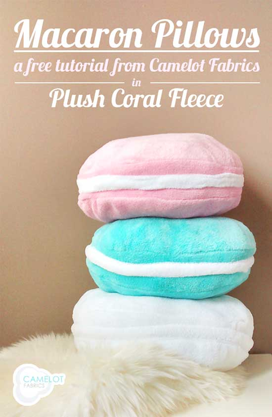 DIY Macaron pillows for your teen girl bedroom #pillow #decor #macaron #bedroom #girl