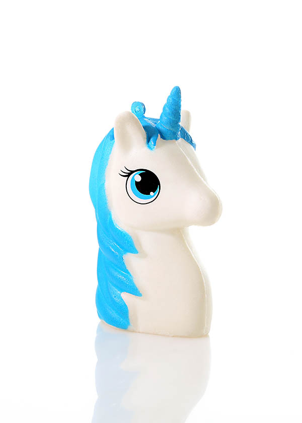 Unicorn head squishy