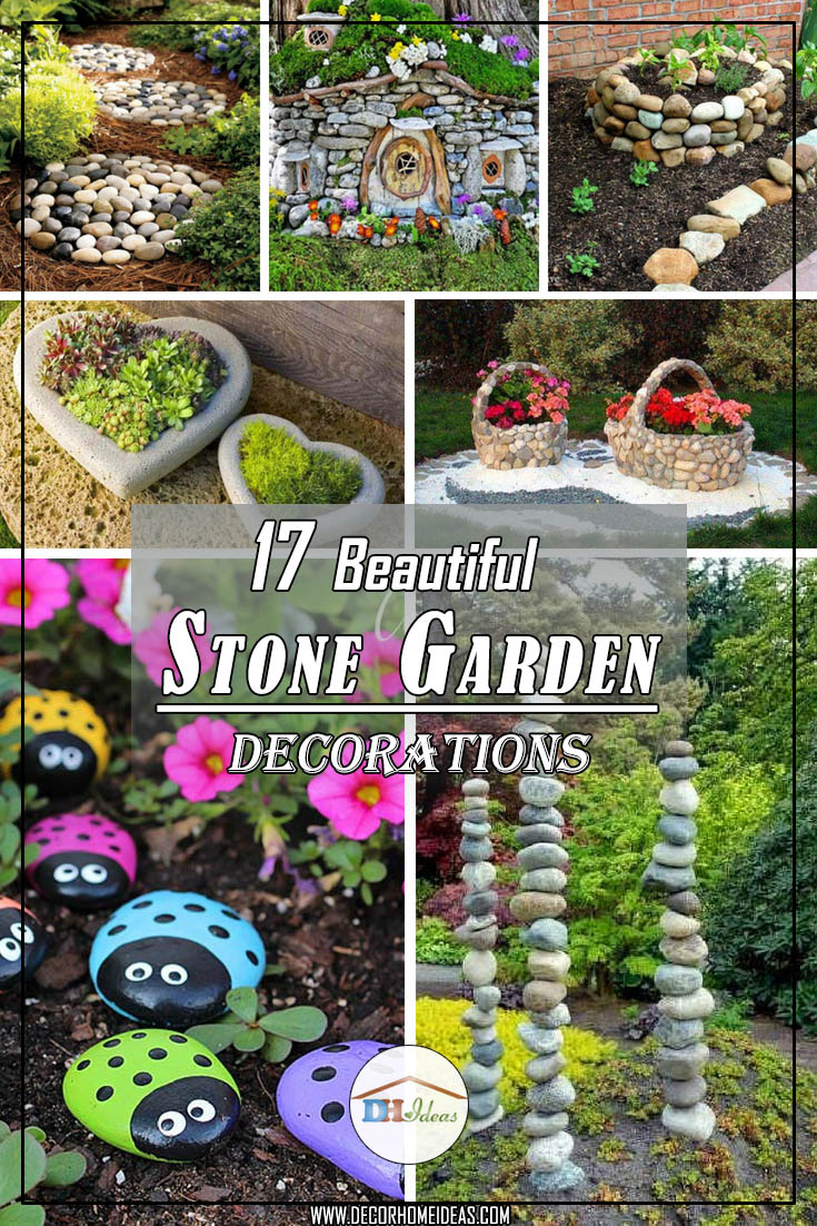 17 Beautiful Stone Garden Decorations That Will Amaze You Decor - Stone-garden-ideas