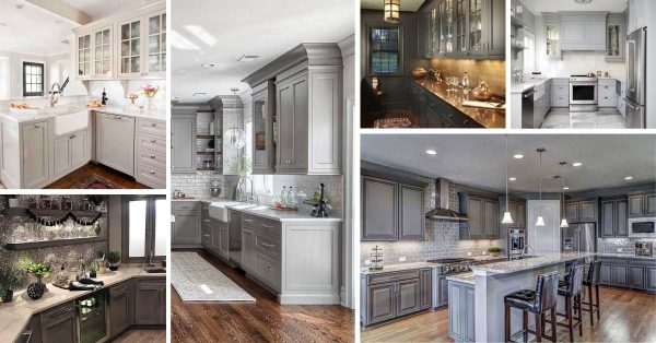 25 Best Gray Kitchen Cabinet Ideas and Designs