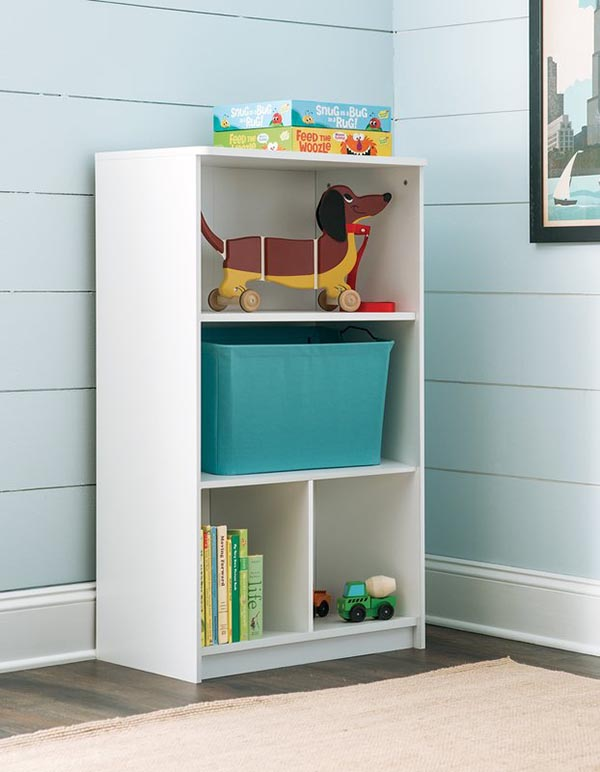 DIY Three Tier Books and Toys storage for Kids #toystorage #bookcase #organizer #decorhomeideas