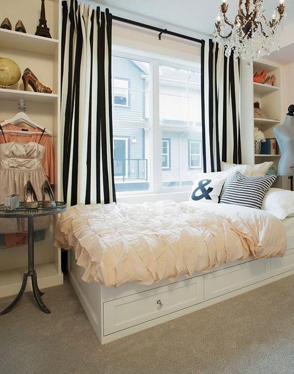 Chic teenage girl bedroom idea #teengirlbedroom #girlbedroom #teenbedroom #bedroom #homedecor #decorhomeideas