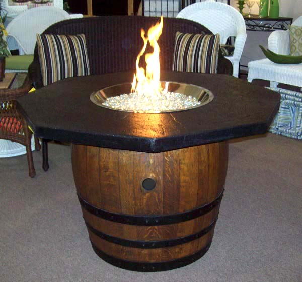 Repurposed Old Barrel Turned Into Fire Pit #firepit #firepitideas #diy #garden #decorhomeideas