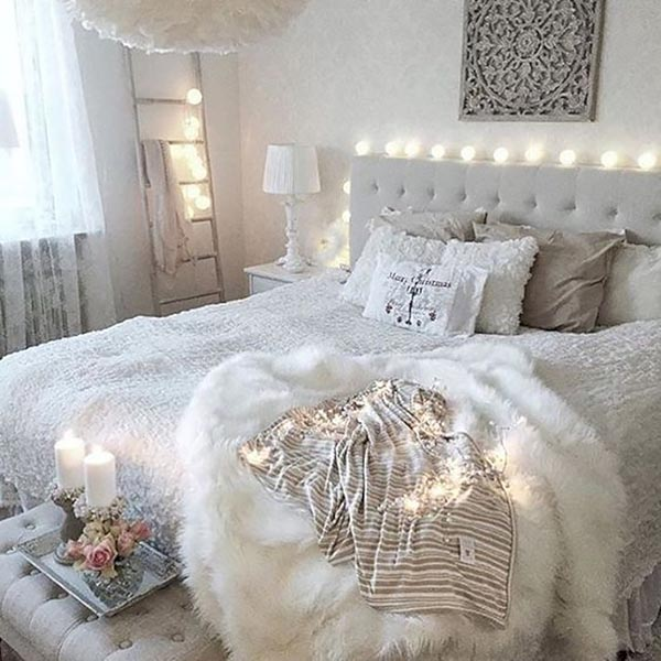 Shabby chic teenage girl bedroom #teengirlbedroom #girlbedroom #teenbedroom #bedroom #homedecor #decorhomeideas