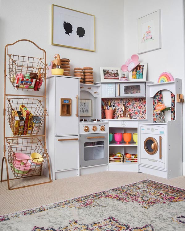Toys storage kitchen play station #toystorage #organizer #kitchen #playstation #decorhomeideas